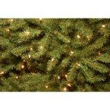 Рождественская елка Dunhill Pre-Lit 7.5 FT прикрепленная на петлях елью искусственная с 700 двойными светами цвета (MY100.086.00)