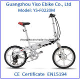 Bicicletas Foldable do motor sem escova de 20 polegadas 36V250W mini importadas de China