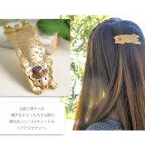 Grote draagt Mooi van het Email van de steen Gouden de Haarspeld van de Klem van het Haar