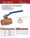 Valvola-Threaded Bronze Ball Valve (251A) di Wras Approved Watermark Certificated Bronze Ball