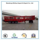 De hete Aanhangwagen van de Omheining van het Vervoer van de Lading Saling, de Aanhangwagen van de Vrachtwagen van de Staak