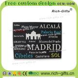 Souvenir en caoutchouc mou personnalisé Madrid (RC-ES) d'aimants de réfrigérateur de cadeaux promotionnels de décoration