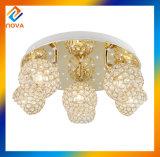 Lampe pendante en cristal de lustre décoratif pour la salle à manger