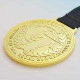 medaglie su ordinazione in lega di zinco di disegno 3D con il nastro