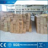 Cadena de producción de máquina del estirador del perfil del PVC