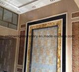 Panneau de mur décoratif de PVC, chaîne de production de marbre de feuille
