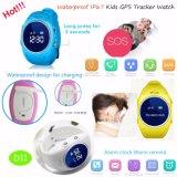 Relógio de rastreamento GPS impermeável para crianças com botão Sos (D11)