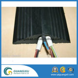 Segurança ao ar livre 3 canais de proteção de cabo de borracha