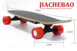 Monopatín electrónico de cuatro ruedas elegante Longboard