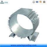 Рамка электрического двигателя OEM ODM алюминиевая с подвергать механической обработке CNC