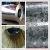Tôle d'acier galvanisée de bonne qualité en matériau de /Steel de construction de toit bobine/0.125-1.3mm/