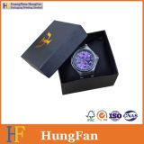 Fabrik kundenspezifischer Firmenzeichen-Packpapier-Uhr-Kasten mit Kissen