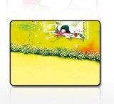 다른 사랑스러운 삽화는 정연한 고무 주문 마우스 패드를 디자인한다
