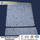 Resistente à abrasão borracha telha cerâmica Apoiado Mats cerâmicos