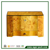 High-End Cedar Wooden com gaveta gaveta Storage Cigar box