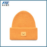 高品質のKinttedの帽子のカスタム刺繍の帽子の帽子