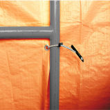 Inverno Enclosure Insulated Tarp con Foam