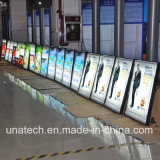 Interior de la pared de montaje de aluminio y publicidad Slim Scrolling Light Box Signs