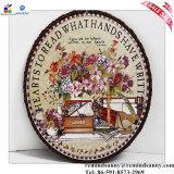 Stuoia rotonda del sottobicchiere della decorazione domestica di ceramica della porcellana