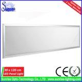 luz del panel superficial del cuadrado 36W LED de los 30X120cm