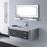 ミラーが付いている標準的なタイプステンレス鋼の浴室の虚栄心のキャビネット