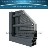 Portelli interni di alluminio della toletta con differenti disegni