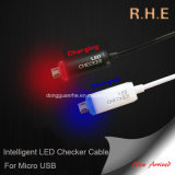 Micro USB를 위한 고속 Intelligent LED Data Cable