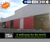 Edilizia usata magazzino della struttura d'acciaio di progetto del peperoncino rosso