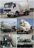 3 Vrachtwagen van de Concrete Mixer van de as 6X4 de Automatische