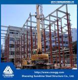 Armazém pré-fabricado da construção de aço do projeto 2017 novo
