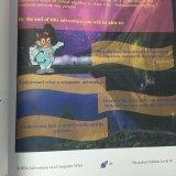 Impression colorée, livre broché, grippement parfait, livres d'éducation
