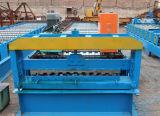 Toiture en métal formant la machine