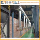 Blocchetto dell'argilla di produzione del mattone dell'argilla di Full Auto che rende a macchinario il forno di traforo a gas del mattone