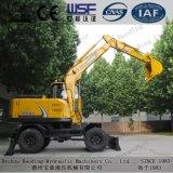 活用および条件の保定6.5tonの車輪の掘削機