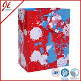 Bolsos del regalo del papel de arte del garrapatos con las bolsas de papel del regalo de la maneta