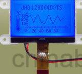3.3V高リゾリューションの図形LCD 128X64青