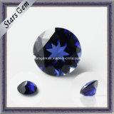 Preço baixo Lab Criado Blue Sapphire Gemstone