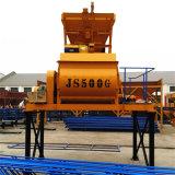 (JS500) Mezclador concreto de la fuerza, mezclador concreto eléctrico
