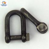 正方形ヘッドPinの造られた鋼鉄トロール網でとる手錠