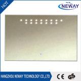 Specchio della parete LED della stanza da bagno del certificato del Ce dello specchio degli indicatori luminosi