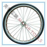 12/14/16 Zoll-Halb-Pneumatische Gummifahrrad-Räder