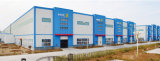 Helles Stahlkonstruktion-Rahmen-Aufbau-Werkstatt-Gebäude (KXD-SSB142)