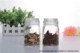 vaso di vetro della caramella 200ml con il coperchio di vetro