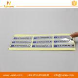 주문 인쇄 방수 접착성 스티커 포장 레이블