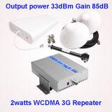 85dB amplificatore del segnale del telefono mobile di UMTS di guadagno 3G