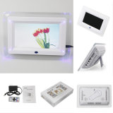 7inch Acrylic Digitla Photo Frame con Light