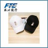 ジェスチャーを含む綿の刺繍のBaseabllのカスタム帽子