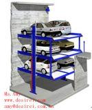 Levage automatique d'étage clair de deux postes/levage de véhicule