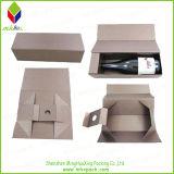 Kundenspezifischer purpurrote Papiergeschenk-Schmucksache-faltender Kasten