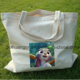 Förderndes Geschenk kundenspezifischer Firmenzeichen-faltbarer Baumwollbeutel für das Einkaufen